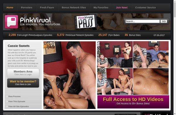 Pink Visual Pass