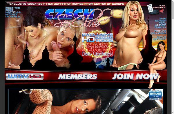 Czech Sex Club