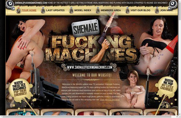 Shemale Fucking Machines