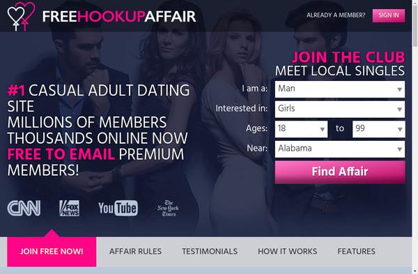 Free Hookup Affair