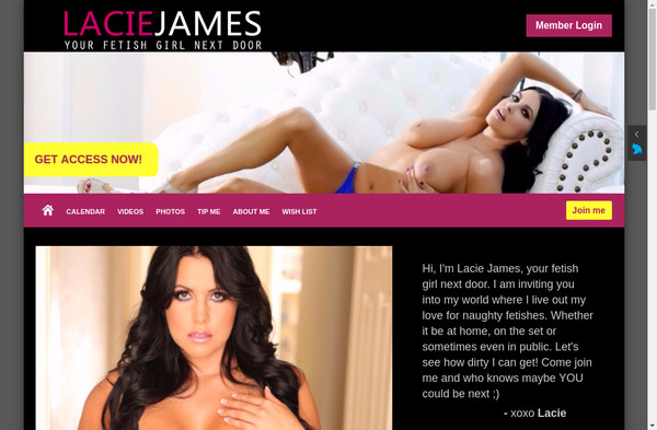 Lacie James