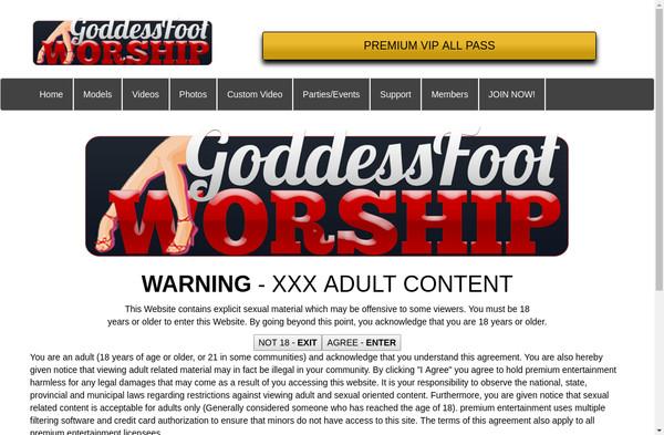 Goddess Foot Worship