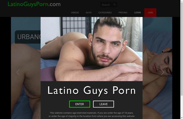 Latino Guys Porn