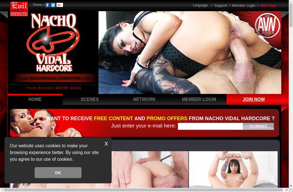 Nacho Vidal Hardcore