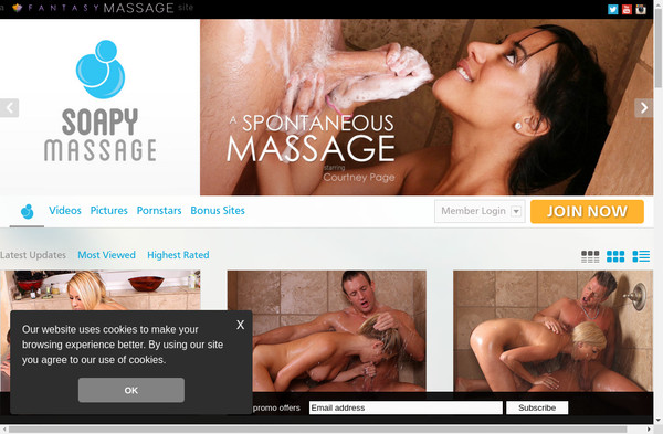Soapy Massage