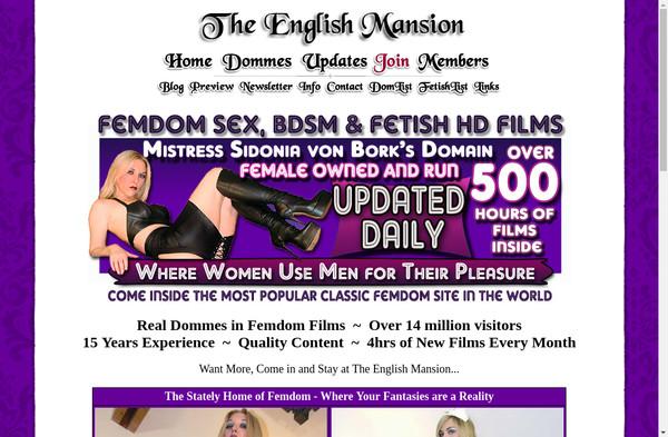 The English Mansion