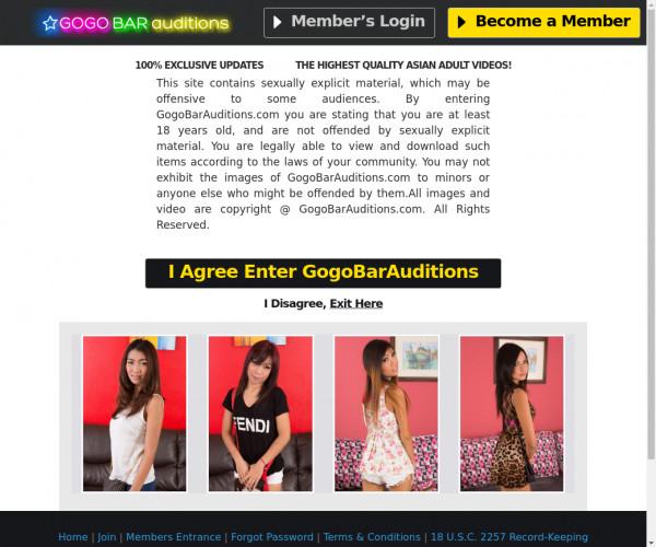 gogo bar auditions