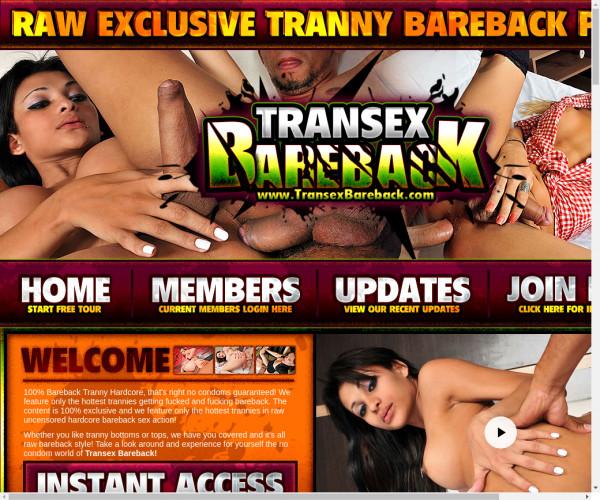 transex bareback
