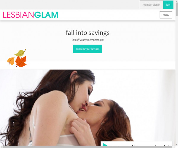lesbian glam
