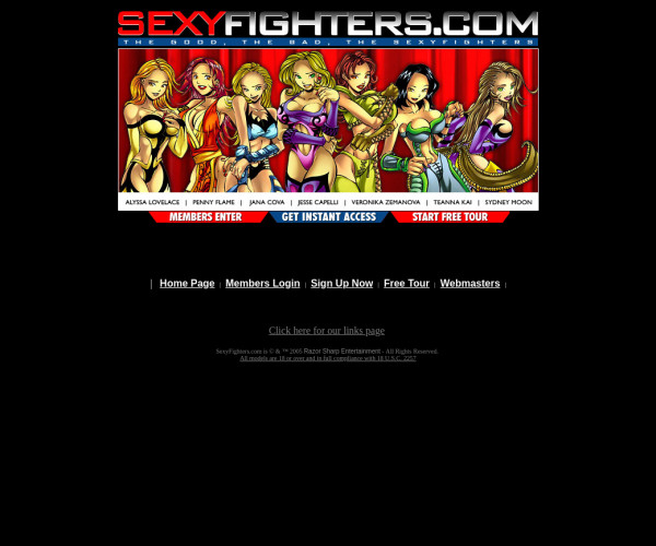 sexy fighters