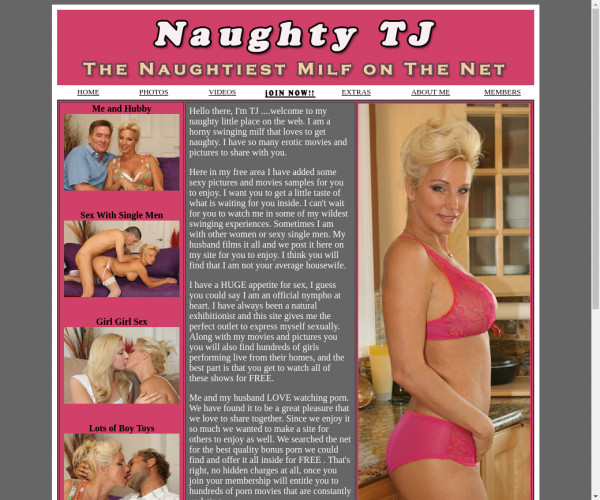 naughty tj